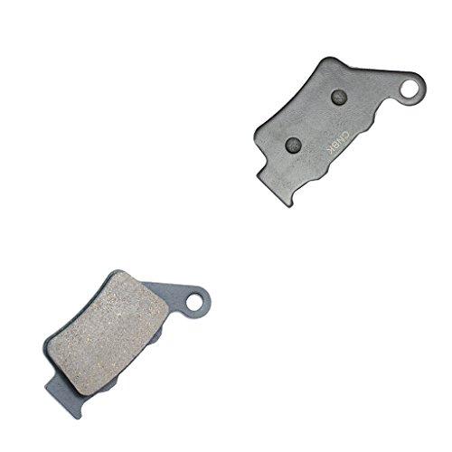 CNBK Rear Brake Pads Semi-Metallic fit for TM Dirt Bike MX300 MX 300 98 99 00 1998 1999 2000 1 Pair2 Pads