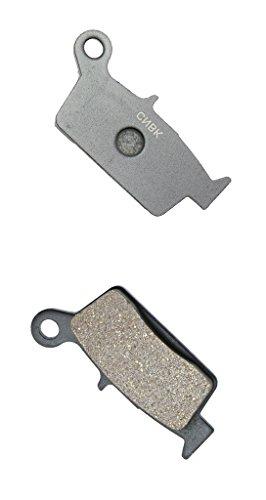 CNBK Rear Brake Pads Semi-Metallic for TM Dirt Bike SMR250 SMR 250 F 4T 10 11 12 13 14 15 2010 2011 2012 2013 2014 2015 1 Pair2 Pads