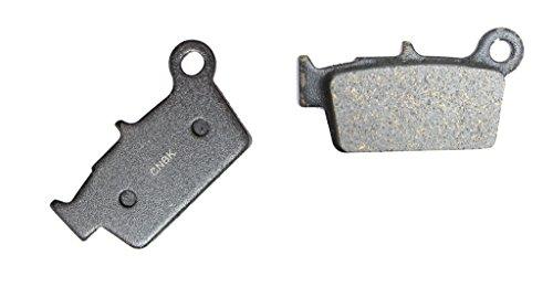 CNBK Rear Brake Shoe Pads Carbon fit for TM Dirt Bike EN250 EN 250 F 05 06 07 08 09 10 11 12 13 14 15 2005 2006 2007 2008 2009 2010 2011 2012 2013 2014 2015 1 Pair2 Pads