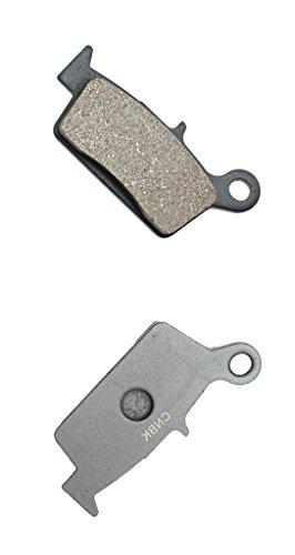 CNBK Rear Brake Shoe Pads Semi Met fit for TM Dirt Bike MX250 MX 250 01 02 03 04 2001 2002 2003 2004 1 Pair2 Pads
