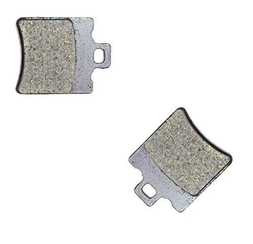CNBK Rear Brake Shoe Pads Semi-Metallic fit for TM Dirt Bike SMM125 SMM 125 2T Black Dream ES 08 09 10 11 12 13 14 15 2008 2009 2010 2011 2012 2013 2014 2015 1 Pair2 Pads