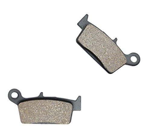 CNBK Rear Brake Shoe Pads Semi Metallic fit for TM Dirt Bike SMR450 SMR 450 F 4T 10 11 12 13 14 15 2010 2011 2012 2013 2014 2015 1 Pair2 Pads