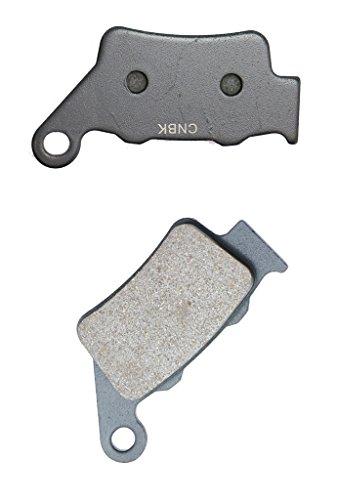 CNBK Rear Disc Brake Pads Carbon fit for TM Dirt Bike MX400 MX 400 F 00 00 2000 1 Pair2 Pads