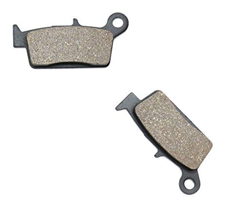 CNBK Rear Disc Brake Pads Resin fit for TM Dirt Bike EN250 EN 250 Fi 4T 10 11 12 13 14 15 2010 2011 2012 2013 2014 2015 1 Pair2 Pads