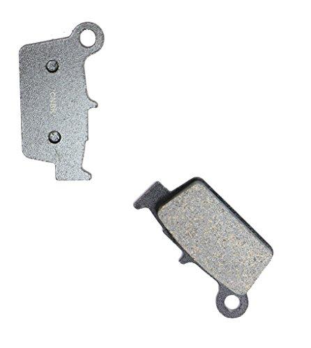CNBK Rear Disc Brake Pads Semi Met for TM Dirt Bike EN530 EN 530 F Enduro 05 06 07 08 09 10 11 12 13 14 15 2005 2006 2007 2008 2009 2010 2011 2012 2013 2014 2015 1 Pair2 Pads