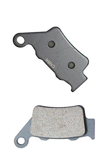 CNBK Rear Disc Brake Pads Semi Met for TM Dirt Bike J85 J 85 M X 03 04 05 06 07 08 09 10 11 12 13 14 15 2003 2004 2005 2006 2007 2008 2009 2010 2011 2012 2013 2014 2015 1 Pair2 Pads