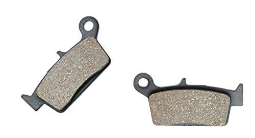 CNBK Rear Disc Brake Pads Semi-met for TM Dirt Bike EN530 EN 530 F-ES 03 04 2003 2004 1 Pair2 Pads