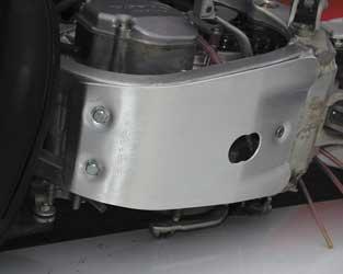 Devol Glide Plate Aluminum for Yamaha YZ450F YZ 450F 06-09