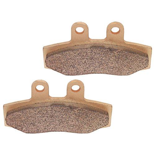 Caltric BRAKE PADS Fits KTM MX125 MX-125 MX250 MX-250 MX500 MX-500 1988 FRONT MOTORCYCLE SINTERED PADS