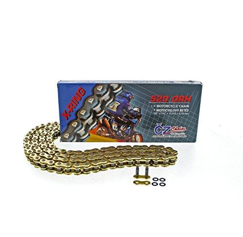 2004 2005 2006 2007 KTM 450 EXC CZ ORH Gold X Ring Chain 520-120L