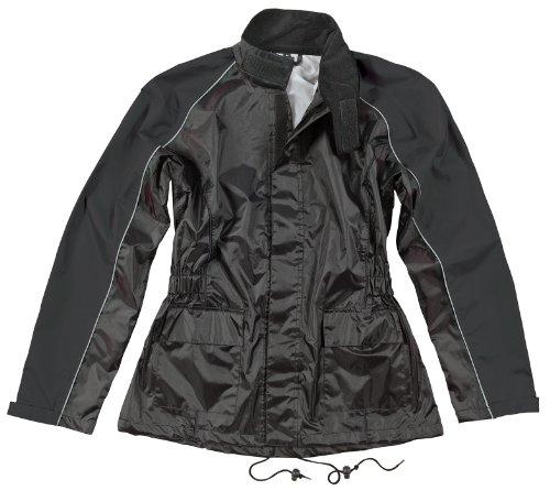 Joe Rocket Rs2 Womens 2-piece Motorcycle Rain Suit (black/black, Large)