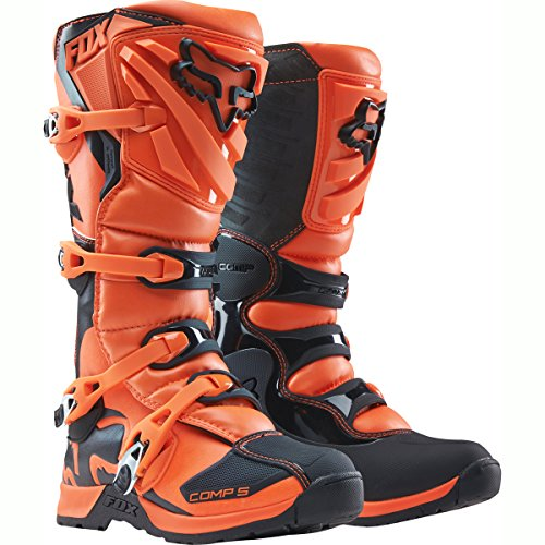 Fox Racing Comp 5 Mens Off-Road Motorcycle Boots - Orange  Size 10