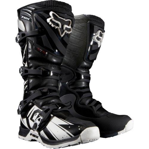 Fox Racing Comp 5 Undertow Youth Boys MXOff-RoadDirt Bike Motorcycle Boots - Black  Size 2