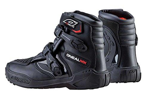 ONeal Racing Shorty II Mens MXOff-RoadDirt Bike Motorcycle Boots - Black  Size 10