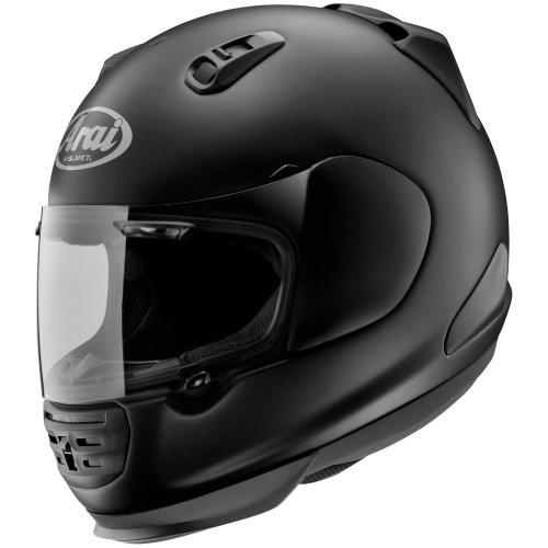 Arai Solid Defiant Street Bike Motorcycle Helmet - Black Frost / Medium