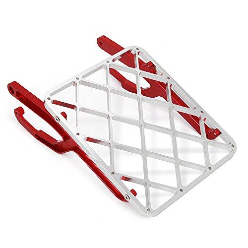 JFG RACING Seat Luggage Rack Shelf Tail Frame Carrier - Honda Motorcycle Dirt Bike