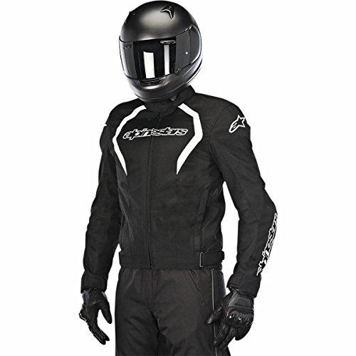 Alpinestars Fastback Waterproof Mens Street Motorcycle Jackets - BlackWhite  X-Large