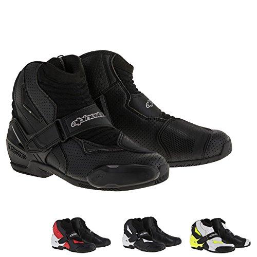 Alpinestars SMX-1R Vented Mens Street Motorcycle Shoes - Black  43