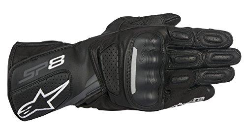 Alpinestars SP-8 V2 Mens Street Motorcycle Gloves - BlackGray  Large