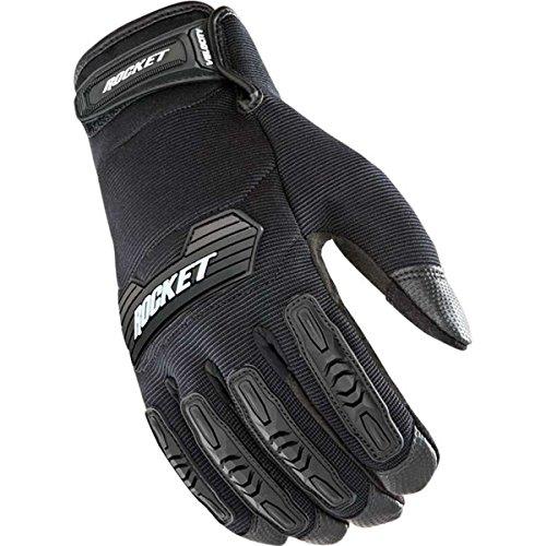 Joe Rocket Velocity 20 Mens Textile Street Motorcycle Gloves - BlackBlack  Large