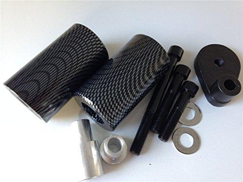 Motorbike carbon No Cut Frame Slider Protector For 2001-2003 Suzuki Gsxr 600 2000-2003 Gsxr 750 N