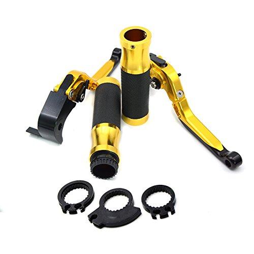 Decal Story Gold Brake Clutch Lever handlebar handle bar For For Suzuki GSXR1000 2005-2006  GSXR 600 750 2006-2010