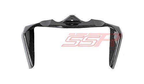 2014-2017 Ducati Monster 821  1200  1200S  1200R Carbon Fiber Radiator Upper Trim Frame Cover Fairing