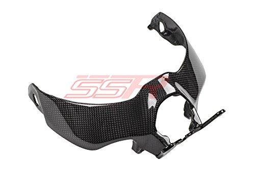 Ducati Monster 821 1200 S 1200S 1200R Carbon Fiber Top Headlight Headlamp Panel Cover Fairing