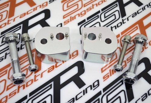 2006-2017 Yamaha FJR 1300 FJR1300 Adapters Adaptors Handlebar Bar 1 Inch Rise Riser Risers