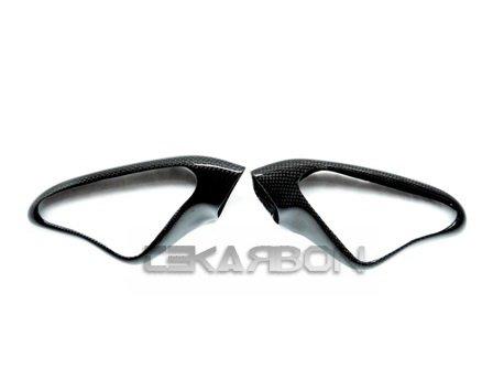2007 - 2012 Ducati 1198 1098 848 Carbon Fiber Mirror Covers