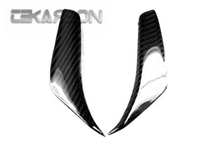 2010 - 2013 MV Agusta F4 Carbon Fiber Mirror Air Scoop Covers