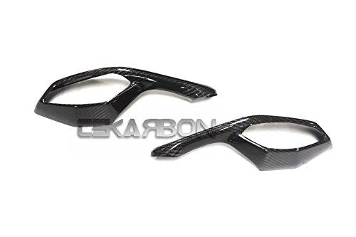 2015 - 2016 Yamaha YZF R1 Carbon Fiber Mirror Covers
