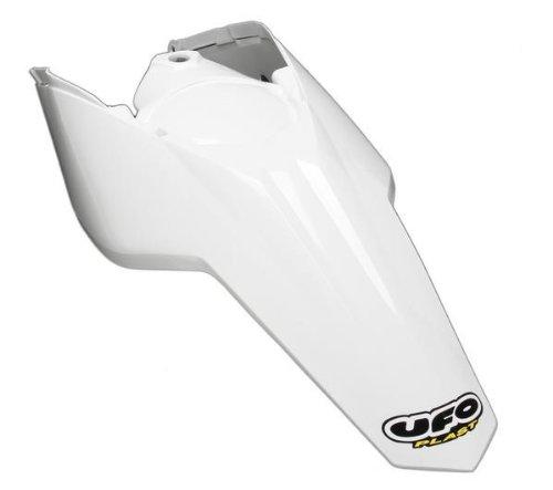 UFO Plastics Carbon Fiber Fender White KTM SX SXF EXC