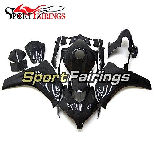 Sportfairings Carbon Fiber Effect Full Injection ABS Plastics Motorcycle Fairing Kits For Honda CBR1000 CBR1000RR Year 2008 2009 2010 2011 Cowlings