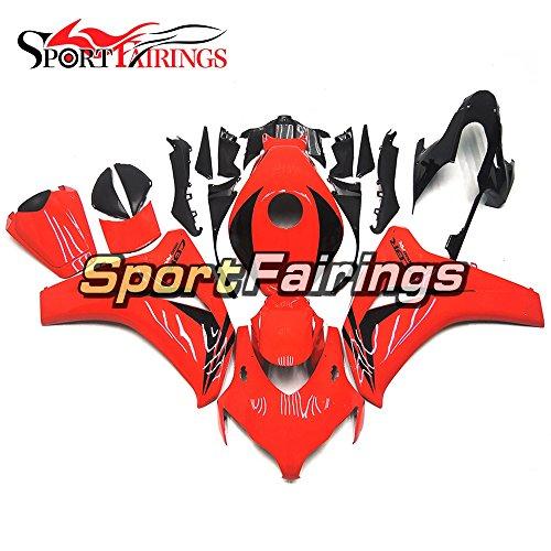 Sportfairings Complete Injection ABS Plastics Gloss Red Fairing Kits For Honda CBR1000RR Year 2008 2009 2010 2011 Fairings