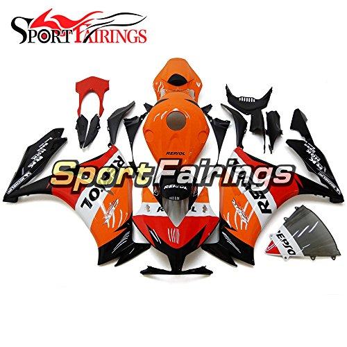 Sportfairings Orange Red ABS Plastics Injection Motorcycle Fairing Kits For Honda CBR1000RR Year 2012 2013 2014 2015 Bodywork