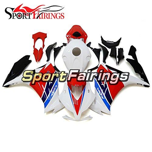 Sportfairings Red White Blue Plastics ABS Injection Motorcycle Fairing Kits For Honda CBR1000RR Year 2012 2013 2014 2015 Bodywork