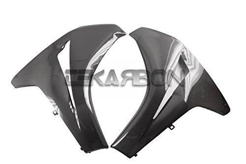 2008 - 2011 Honda CBR1000RR Carbon Fiber Large Side Fairings - Twill