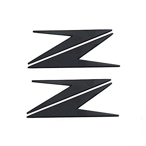 PRO-KODASKIN Motorcycle 3D Raise Z Stickers Decals Emblem for KAWASAKI Z250 Z300 Z650 Z750 Z800 Z900 Z1000 Black