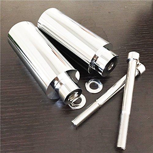 Chromed Extended Frame Slider For 1999 2000 2001 2002 2003-2006 Honda CBR 600 F4 F4i motorcycle