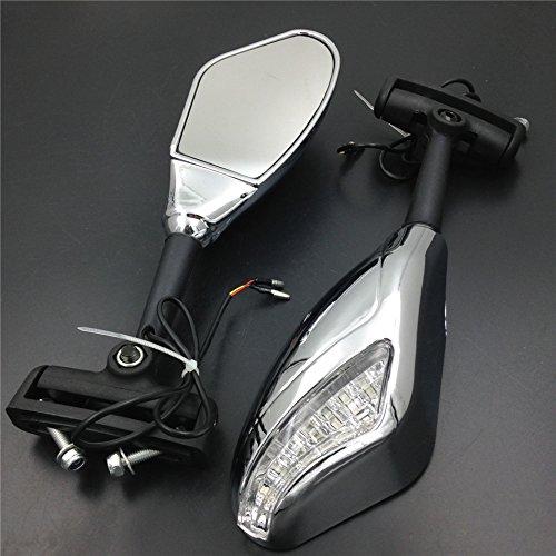 Motorcycle Turn Signal Led Lights Mirrors For Honda Cbr 600 F4 900 929 954 Cbr1000 Cd