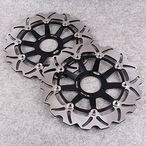GZYF Front Brake Disc Rotors For Honda CBR600F4 CBR F 600 2003 XLV VARADERO 1000