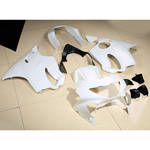 XFMT Unpainted INJECTION Fairing Bodywork Kit For Honda CBR600F4 CBR 600 F4 1999-2000