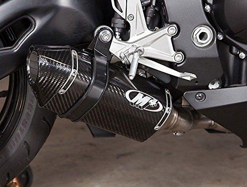 M4 Honda CBR1000RR 08-16 Carbon Standard Mount Full Exhaust System Carbon