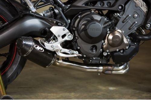 M4 Yamaha FZ-09 14-16 Carbon Fiber Slip On Exhaust Carbon