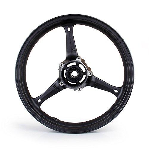 Areyourshop Front Wheel Rim For Suzuki GSXR 600750 2006-2007 GSXR 1000 2005-2008 Black