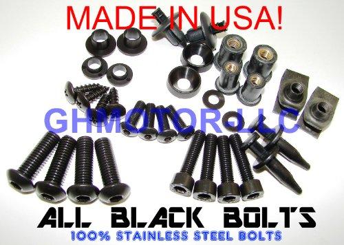 Complete Fairing Bolt Kit Black Body Screw for SUZUKI 2005 2006 GSXR 1000 Motorcycle Socket Screw