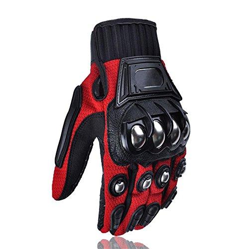 Alloy Steel Bicycle Motorcycle Motorbike Powersports Racing Gloves Medium
