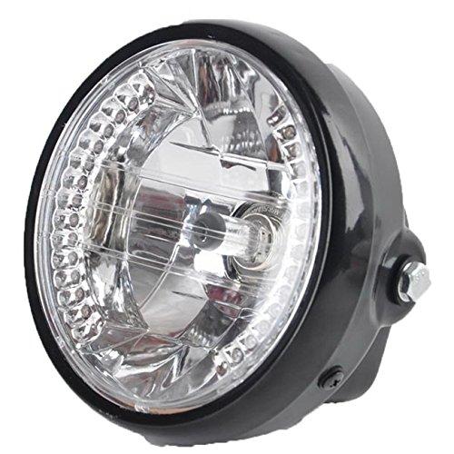 Motorcycle HeadlightPOSSBAY 7 LED Headlamp Turn Signal Indicators Amber for Motorcycle Motorbike Dirt Bike