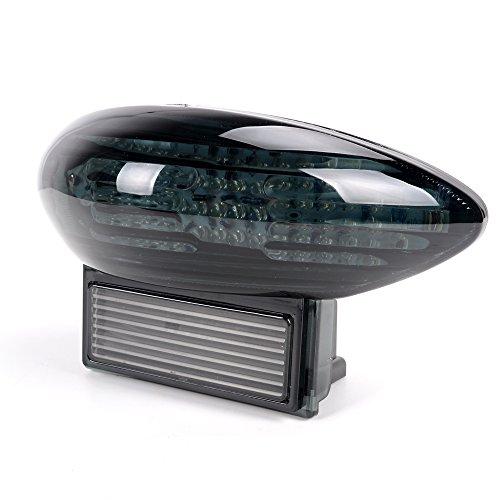 LED Integrated Signal Stop Brake Tail Light For 99-07 Suzuki Gsxr 1300 Hayabusa 03-06 Katana 600 750